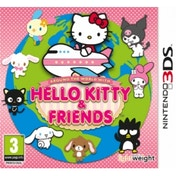 Around the World with Hello Kitty & Friends Game 3DS