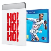 FIFA 19 PS4 Game + Christmas Gift Tin