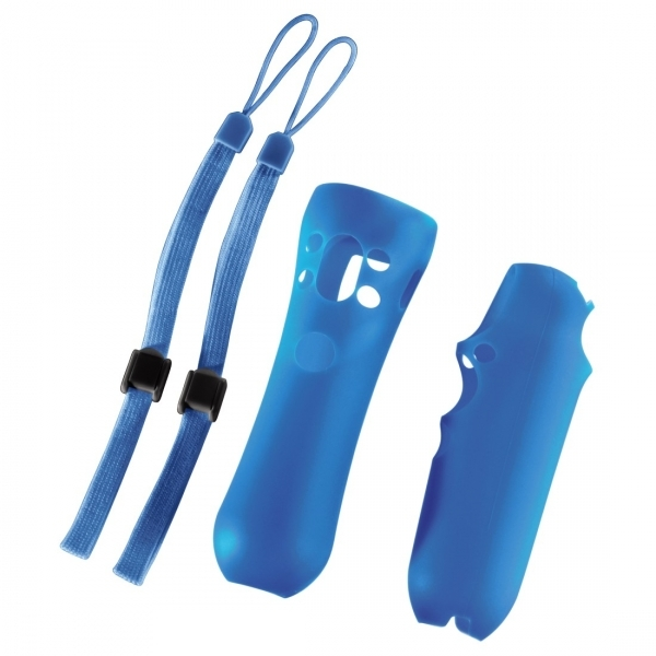 PS Move Silicone Skin Kit (Blue)