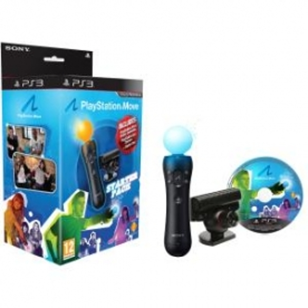 PlayStation Move Starter Pack Includes Demo Disc (Blue Box) PS3