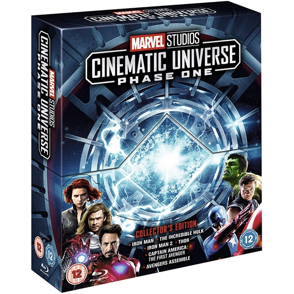 Marvel Studios Cinematic Universe Phase 1 (6 Films) Blu-Ray