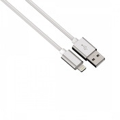 Hama Color Line Charging/Sync Cable (White) Lightning Aluminium 1m