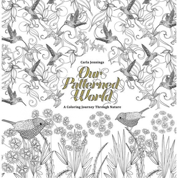 Our Patterned World: A Beautiful Colouring Book