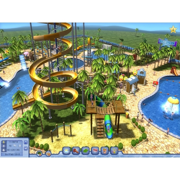 Water Park Tycoon PC Game [Download Card In Box] - Image 2