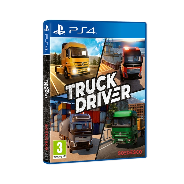 Truck Driver PS4 Game - Image 1