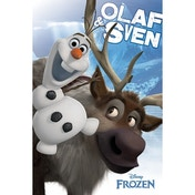 Frozen - Olaf And Sven Maxi Poster