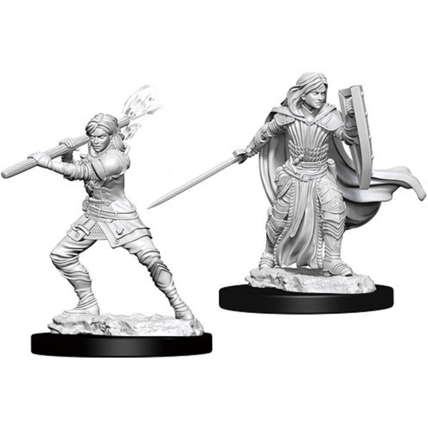 Dungeons & Dragons Nolzur's Marvelous Unpainted Miniatures - Female Human Paladin
