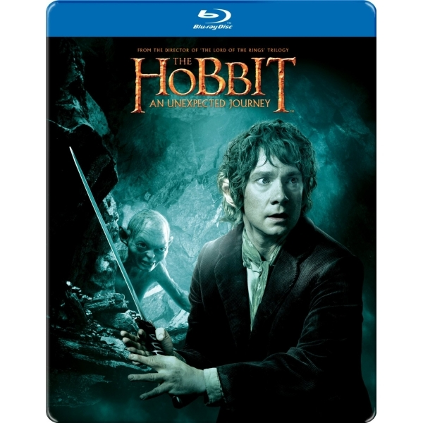 The Hobbit An Unexpected Journey Limited Edition Steelbook Blu-ray