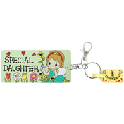 Pack of 6 Special Daughter Key Rings