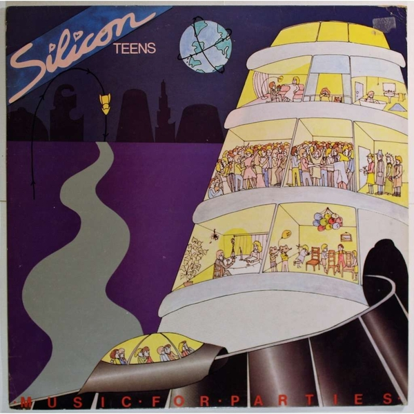Silicon Teens - Music for Parties Vinyl