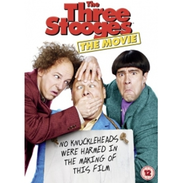 Three Stooges (2012) DVD