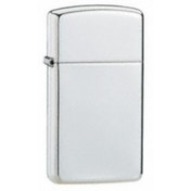 Zippo Slim High Polished Finish Sterling Silver Windproof Lighter