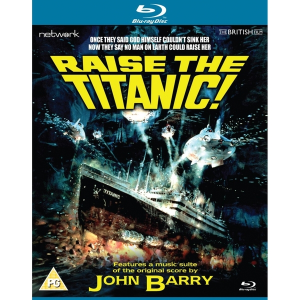 Raise the Titanic Blu-ray