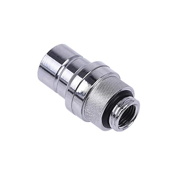 Image of Alphacool Eiszapfen Male Quick Release Connector - Chrome