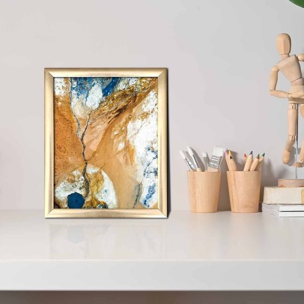 ACT-042 Multicolor Decorative Framed MDF Painting