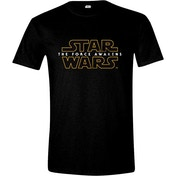 Star Wars VII Men's The Force Awakens Main Logo X-Large T-Shirt