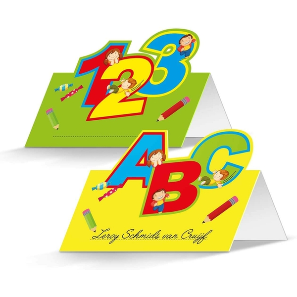Place Cards First Day at School (Pack Of 24)