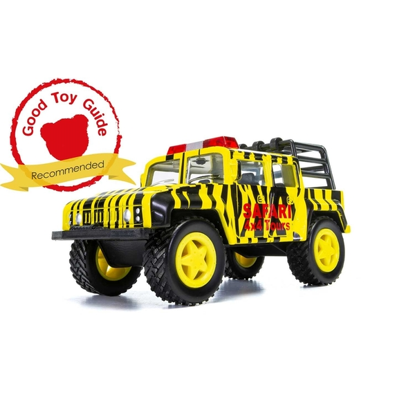 Off Road Safari (Yellow & Black) Chunkies Corgi Diecast Toy