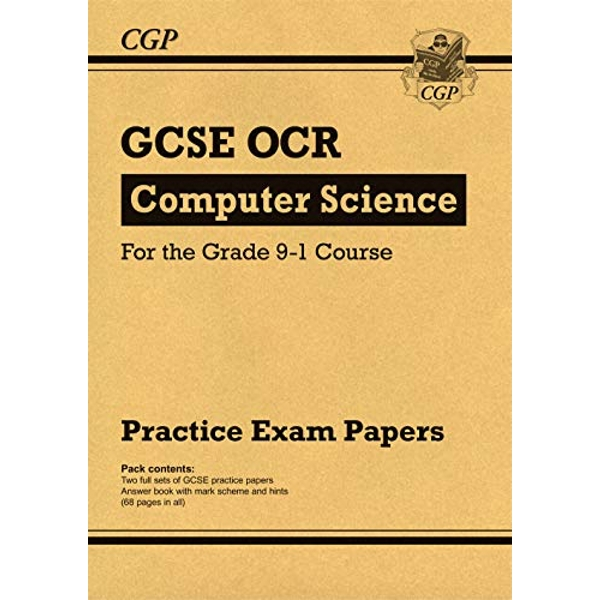 New GCSE Computer Science OCR Practice Papers - for the Grade 9-1 Course by CGP Books (Paperback, 2017)