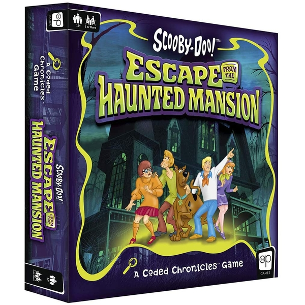 Scooby-Doo: Escape from The Haunted Mansion Board Game