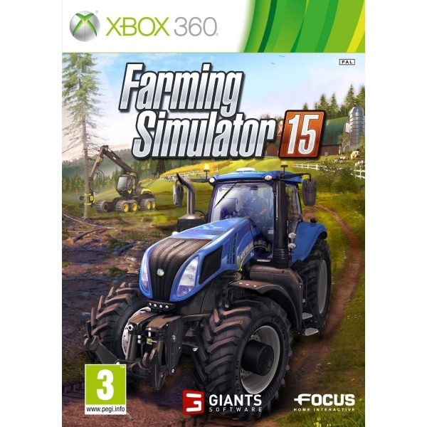 Farming Simulator 15 Xbox 360 Game