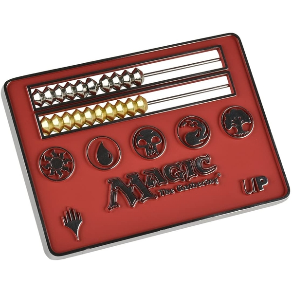 Magic: The Gathering - Card Size Abacus Life Counter - Red