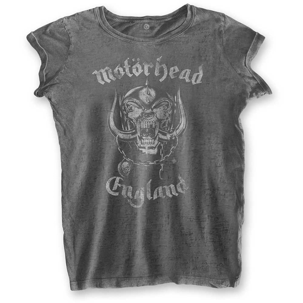 Motorhead - England Women's Medium T-Shirt - Grey