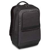 Targus CitySmart Essential Business Backpack with Protective Sleeve Designed for Travel and Business Professional Use fits up to 15.6-Inch Laptop, Black/Grey (TSB911EU), 305 x 15 x 470 mm