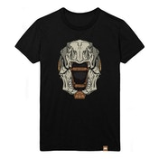 Destiny - Skull of Dire Ahamkara Helmet Male Medium T-Shirt - Black