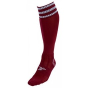 PT 3 Stripe Pro Football Socks Mens Maroon/White