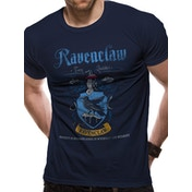 Harry Potter - Ravenclaw Quidditch Men's Small T-shirt - Blue