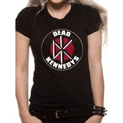 Dead Kennedys - Brick Logo Women's Large T-Shirt - Black