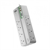 APC 230 V Performance SurgeArrest Surge Protector with Phone and Coax Protection White