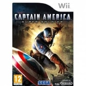 Captain America Super Soldier Game Wii