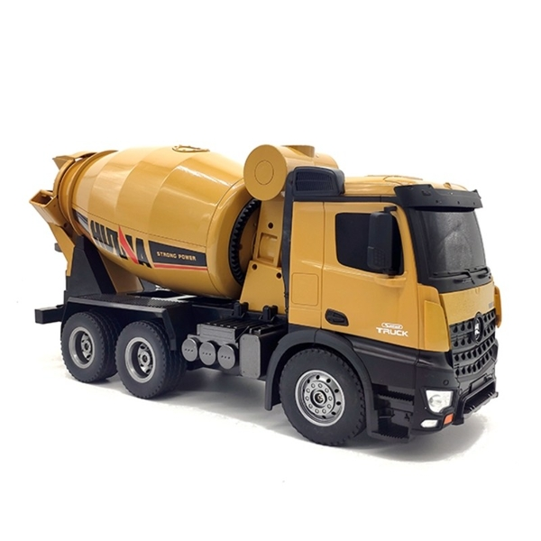 HUINA 1:14th RC 10 Channel 2.4G Mixer Truck - Image 1