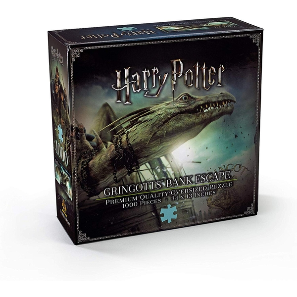 Gringotts Bank Escape 1000pc Jigsaw Puzzle By Noble Collection