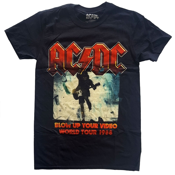 AC/DC - Blow Up Your Video Unisex Small T-Shirt - Black