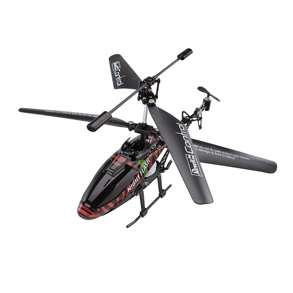 Revell RC Construction Kit Helicopter NIGHT FLASH Technik Radio Controlled Model Kit - Image 2