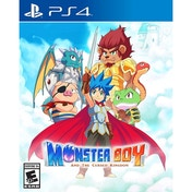 Ex-Display Monster Boy and the Cursed Kingdom Launch Edition PS4 Game  Used - Like New
