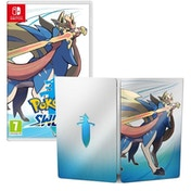 Pokemon Sword Nintendo Switch Game + Steelbook