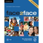 face2face Pre-intermediate Student's Book with DVD-ROM by Chris Redston, Gillie Cunningham (Mixed media product, 2012)