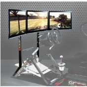 Pagnian GTultimate Monitor Stand to Hold 1 (55in) to 3 (27in) Screens