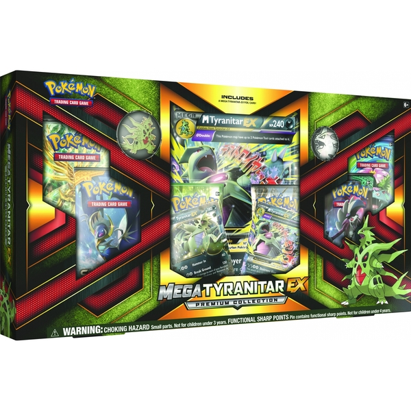 Pokemon TCG Mega Tyranitar-EX Premium Collection