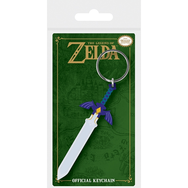 The Legend Of Zelda - Master Sword Keychain