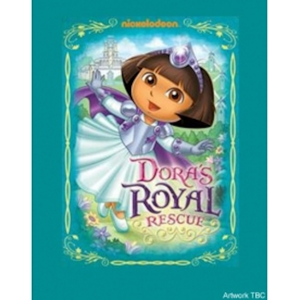 Dora The Explorer Royal Rescue DVD