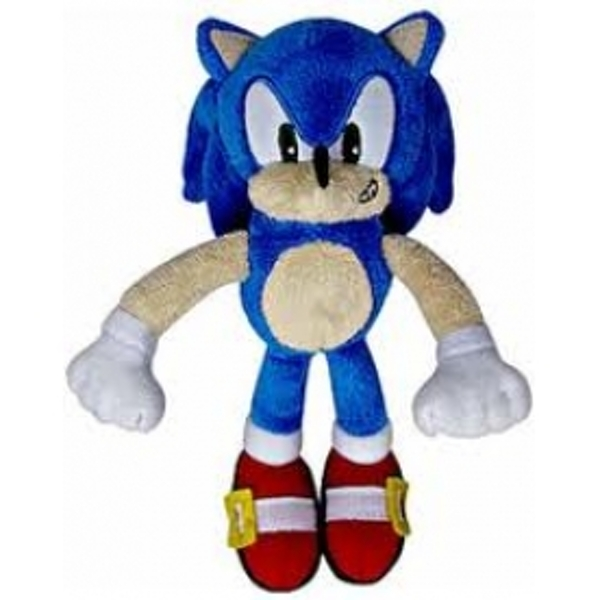 """Kids Play With Sonic Exe Toys And Super Sonic Exe Toys: Sonic The Hedgehog 20th Anniversary 7"""" 2011 Modern Sonic"""