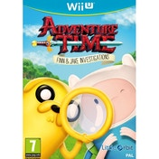 Adventure Time Finn and Jake Investigations Wii U Game