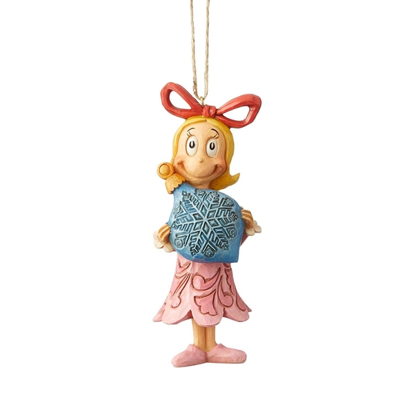 Cindy Lou (The Grinch) with Ball Ornament Hanging Ornament