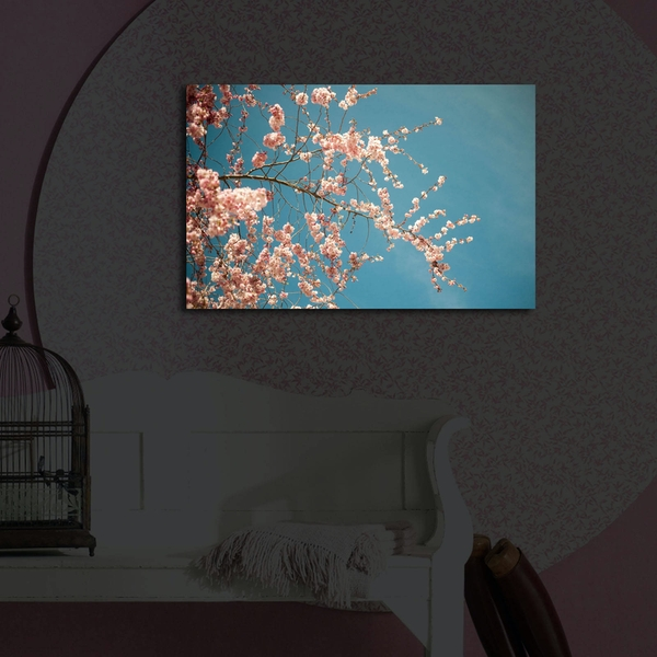 4570?ACT-41 Multicolor Decorative Led Lighted Canvas Painting