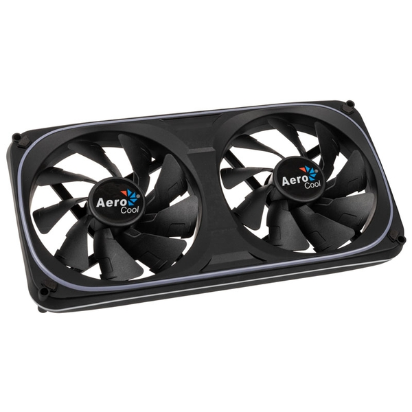 Aerocool Astro 24 Dual RGB LED Fan - 120mm
